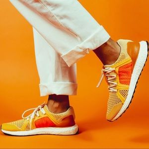 Adidas Ultraboost by Stella McCartney Gold Orange